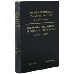 NOUVEAU TESTAMENT & PSAUMES & PROVERBES FRANÇAIS COURANT ANGLAIS-FRANÇAIS 3999