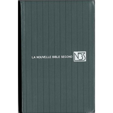 BIBLE NBS (NOUVELLE BIBLE SEGOND) SANS NOTE, SOUPLE COMPACTE 1075