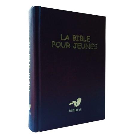 LA BIBLE POUR JEUNE RIGIDE BLEU