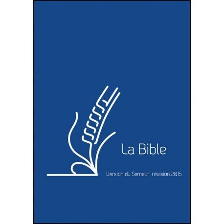 Bible Semeur 2015 poche PU zip bleu