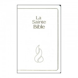 La Sainte bible NEG compacte mariage blanc tr. or
