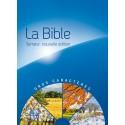 Bible Semeur 2015 Gros caractère rigide bleu illustrée