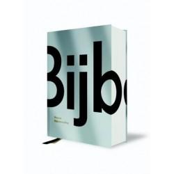 B.NL NBV huisbijbel grotere letters 14x21cm silver