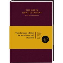 The Greek New Testament UBS