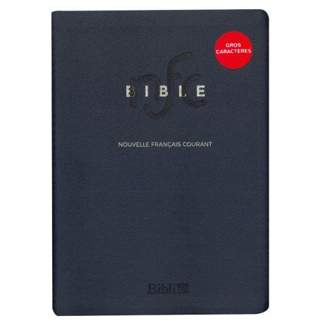 Bible NFC (gros caractères)