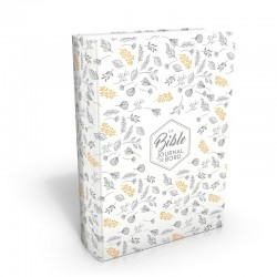 Bible Segond 21 Journal de bord (blanc et or)
