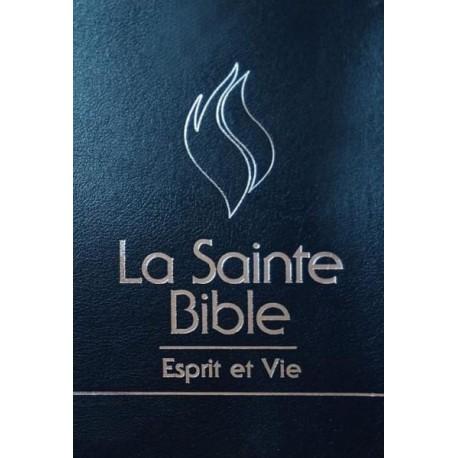 BIBLE Segond 1910 Esprit et Vie (HC noire)