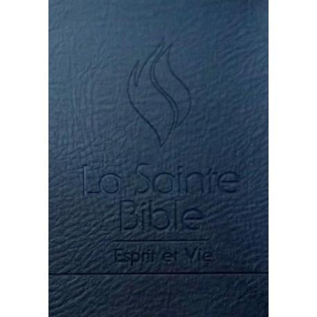 BIBLE Segond 1910 Esprit et Vie (HC noire) - première