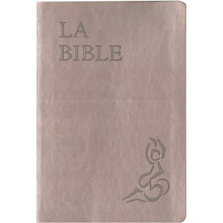 La Bible Parole de Vie Illustrée Valleton beige nacré -1051be