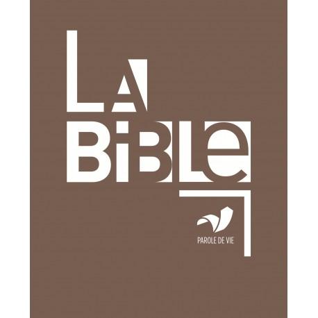 BIBLE PAROLE DE VIE AVEC DC RIGIDE, AGRANDI 1091