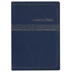 Bible Segond 1910 Car agrandi ,vynil, bleu