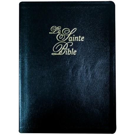 BIBLE SEGOND 1910 GRANDS CARACTÈRES, CUIR, TRANCHES OR 1049