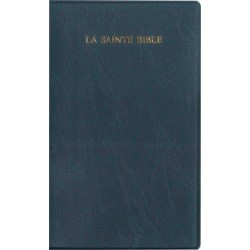 Bible Segond 1910 compact, vynile, avec onglets