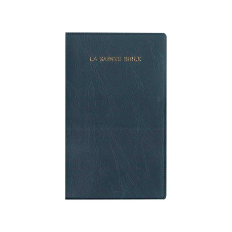 BIBLE SEGOND 1910 COMPACT, VYNILE, AVEC ONGLETS 1425