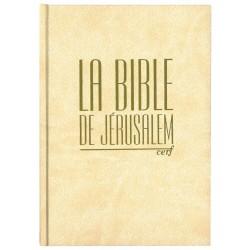 Bible de Jérusalem creme, hc SBFB1268