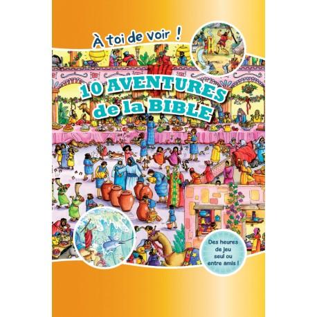 10 AVENTURES DE LA BIBLE - A TOI DE VOIR! -5274