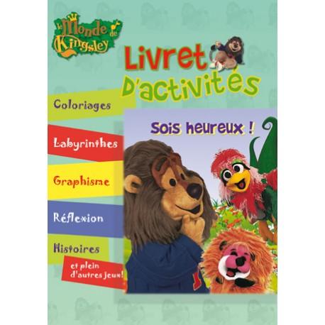 LE MONDE DE KINSLEY LIVRET D'ACTIVITÉ SOIS HEUREUX ! 5404