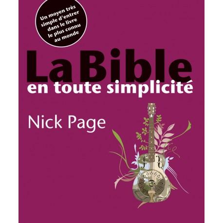 LA BIBLE EN TOUTE SIMPLICITÉ 9954