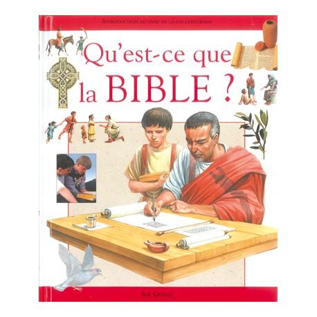 QU'EST-CE QUE LA BIBLE? 7001
