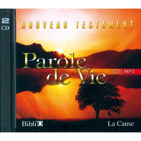 """NOUVEAU TESTAMENT """"PAROLE DE VIE"""" EN MP3 8021"""