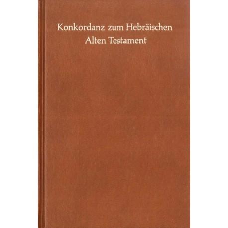 KONKORDANZ ZUM HEBRÄÏSCHEN ALTEN TESTAMENT 7700