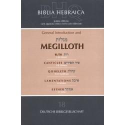 Biblica hebraica Quinta megilloth