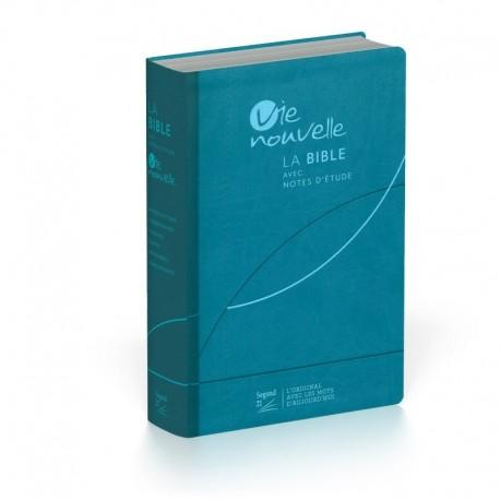 Bible Vie Nouvelle S21 (vivella bleu)