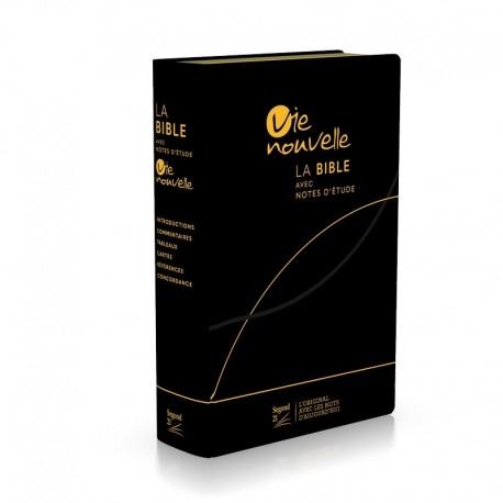 Bible Vie Nouvelle S21 (fibrocuir noir)