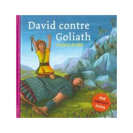 COULEURS DE BIBLE : DAVID ET GOLIATH 5260
