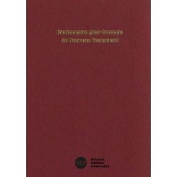 Dictionnaire grec/français du NT