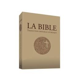 TRADUCTION OFFICIELLE LITURGIQUE DE LA BIBLE - RELIÉ, ÉTUI IMPRIMÉ 14832