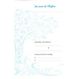 LIVRETS DE MARIAGE RÉF 9002