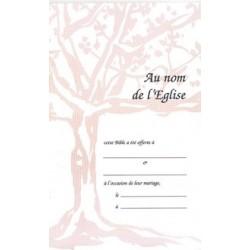 Livrets de mariage réf 9003