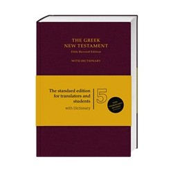 The Greek New Testament with dictionary