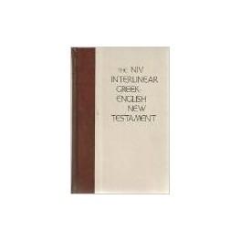 THE NIV INTERLINEAR GREEK-ENGLISH NEW TESTAMENT (MARSHALL) -q86808
