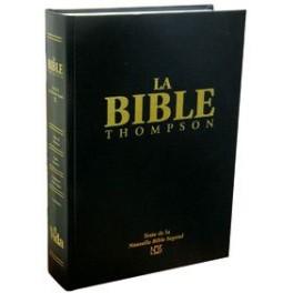 BIBLE D'ÉTUDE THOMPSON NBS 1488