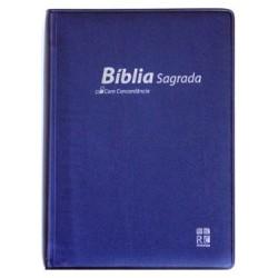 Bible PORTUGAIS (Almeida) souple vinyle avec Concordance 9789896500566